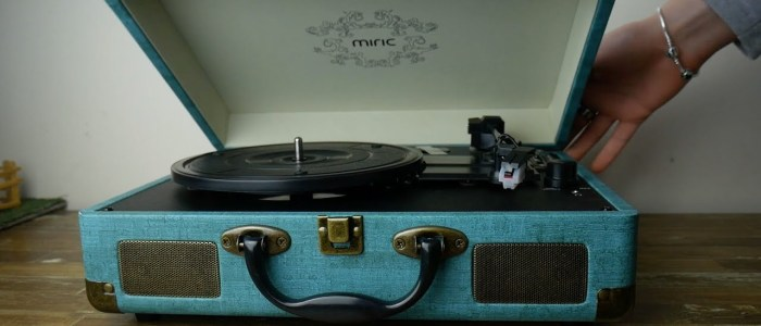 What's the Best Record Player with Speakers