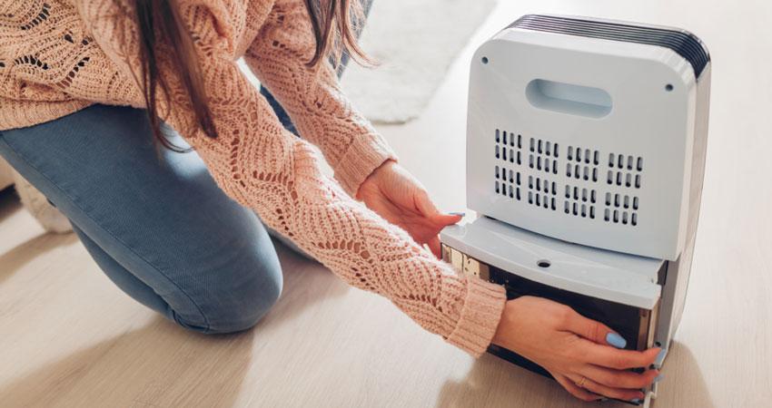 Maintaining Your Dehumidifier