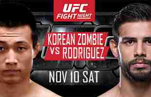 Watch UFC FN 139 KOREAN ZOMBIE VS RODRIGUEZ