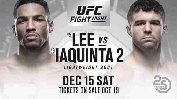 Watch UFC Fight Night Lee vs. Iaquinta 2