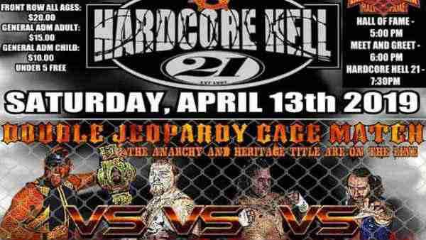Watch Anarchy Wrestling Hardcore Hell 21 – 4/13/2019 Free