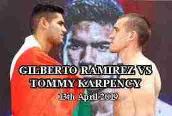 GILBERTO RAMIREZ VS TOMMY KARPENCY