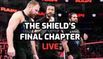 The Shield's Final Chapter 4/21/2019 Live