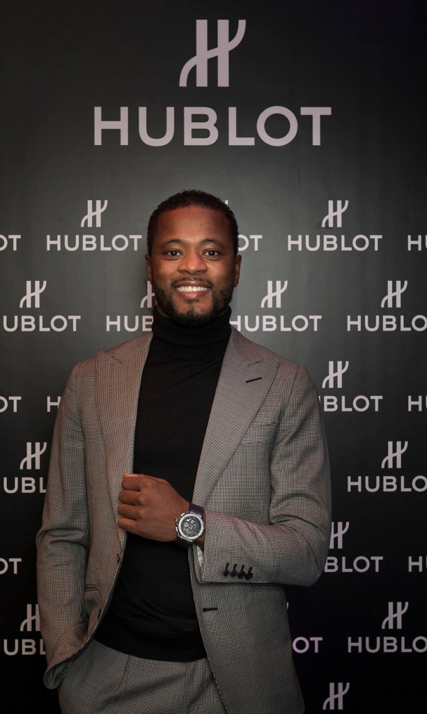 SFootball Coach And Former Professional Football Player Patrice Evra At The Hublot Event Jpg