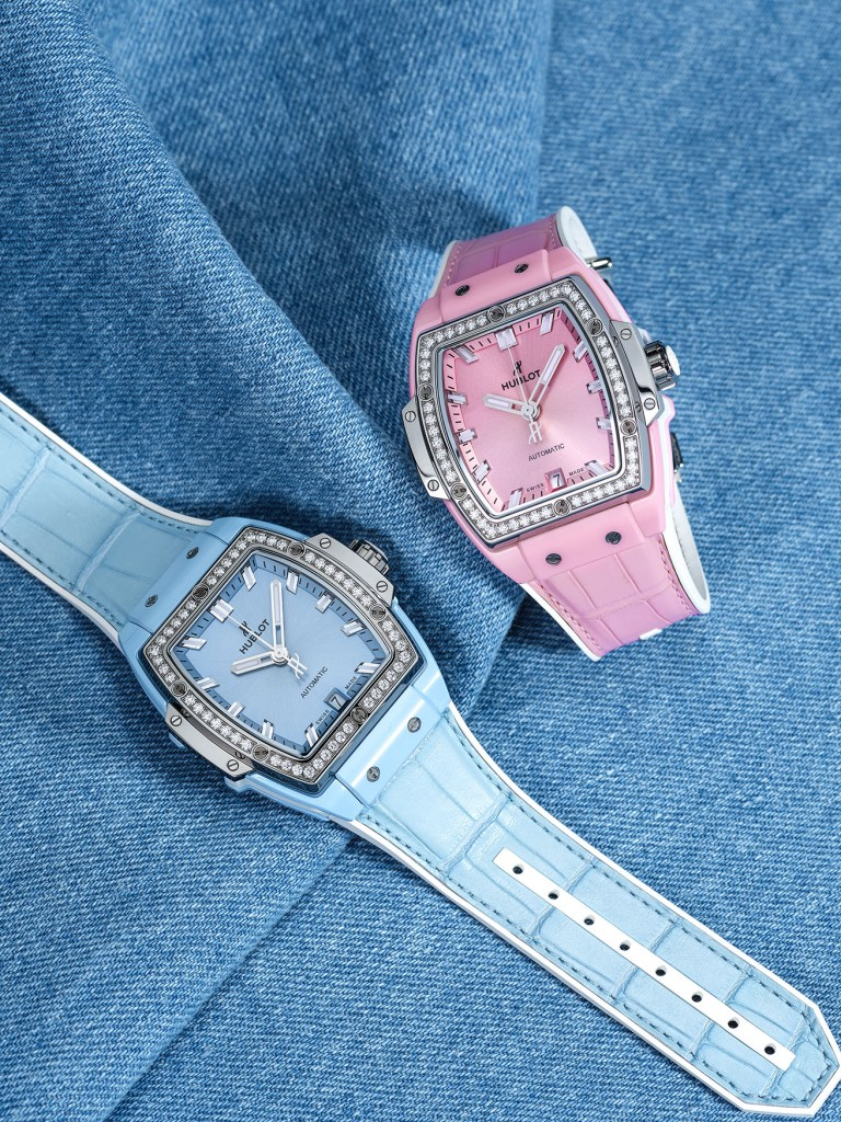 Spirit of Big Bang Light Blue & Pink Ceramic