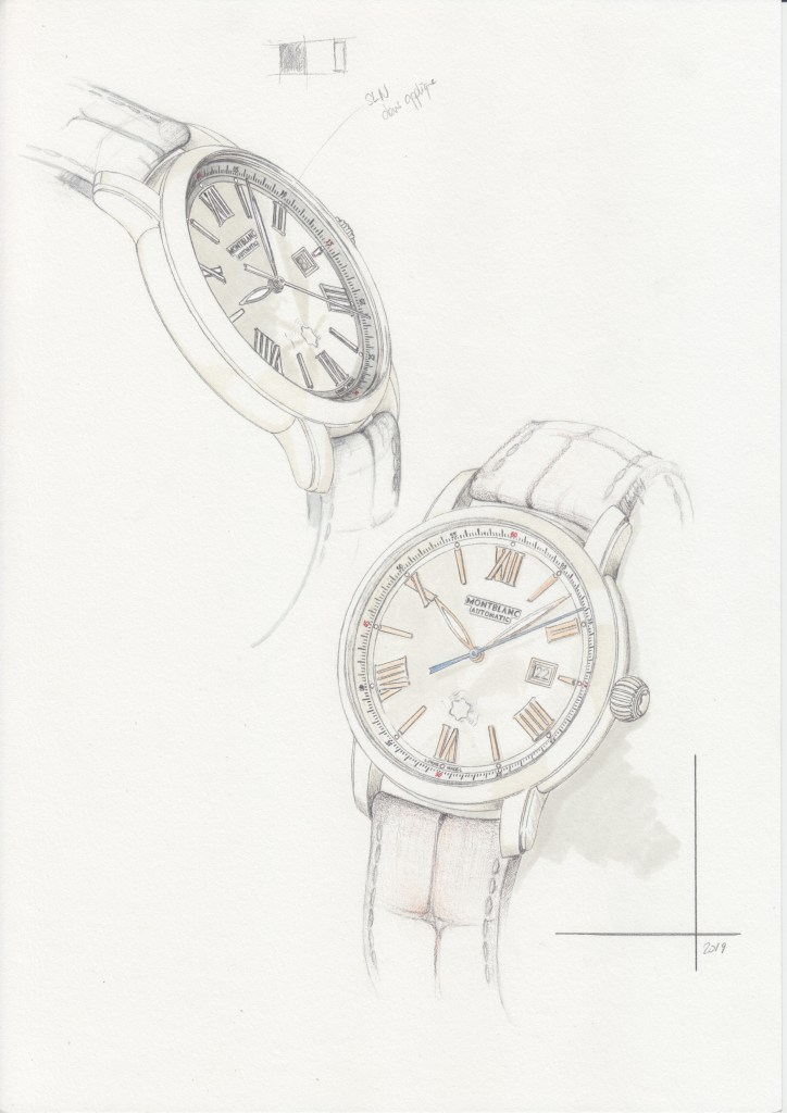 Montblanc Star Legacy Product Line Automatic Date