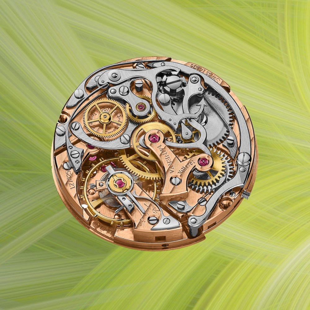 Montblanc Heritage Manufacture Pulsograph Limited Edition 100