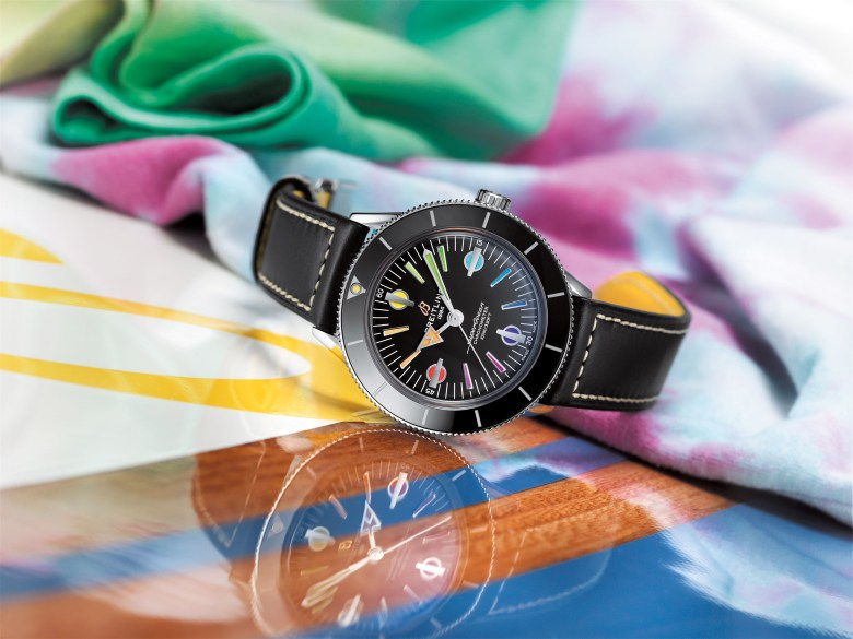 10 Superocean Heritage 57 Limited Edition With A Black Vintage Inspired Leather Strap 2 1024x768
