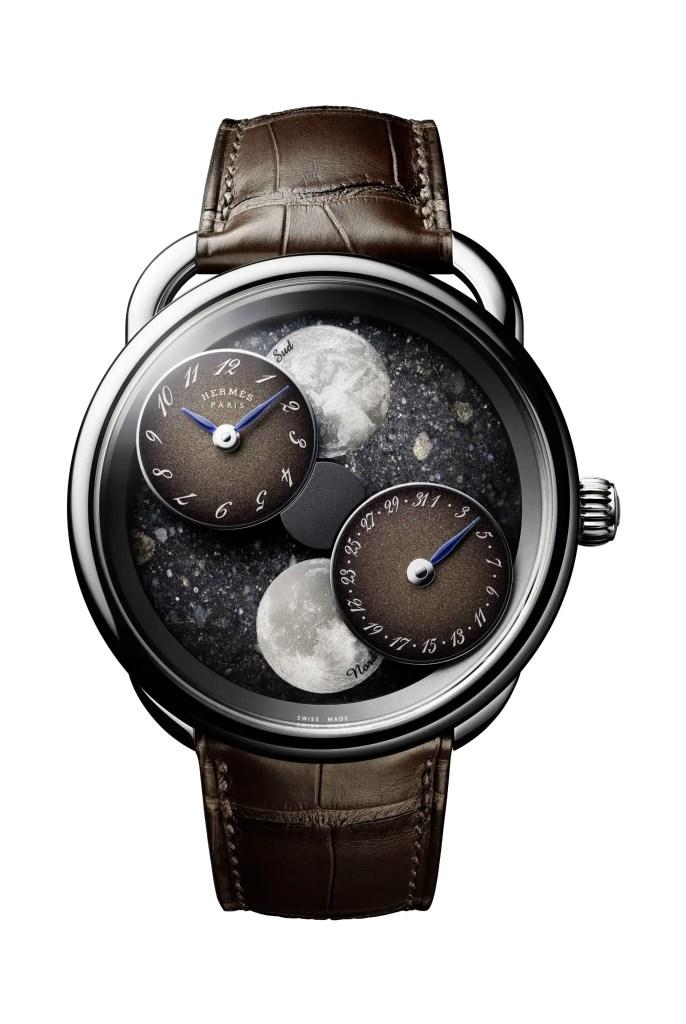 Arceau Lheure De La Lune Lunar Meteorite Joel Von Allmen. 686x1024