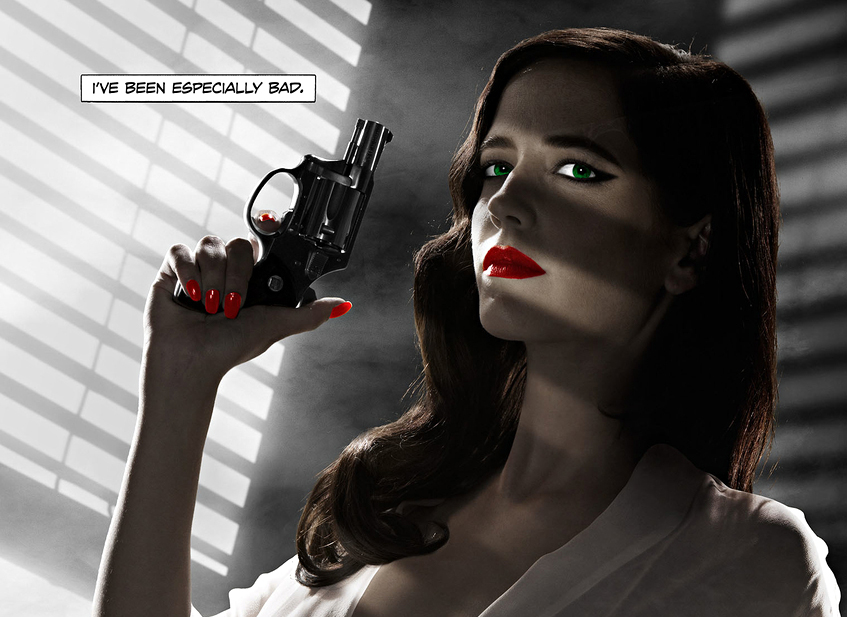 Sin City Eva Green Poster 002