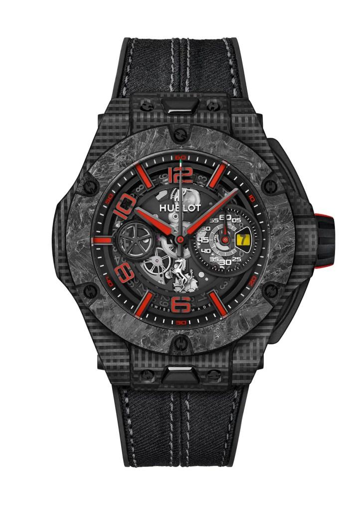 Hublot Big Bang Scuderia Ferrari 90th Anniversary 3d Carbon 402 Qd 0123 Nr Sd Hr W Jpg. 724x1024
