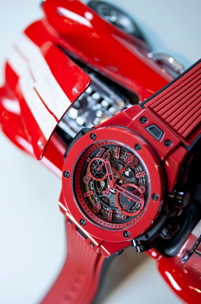Hublot Red And Car 677x1024