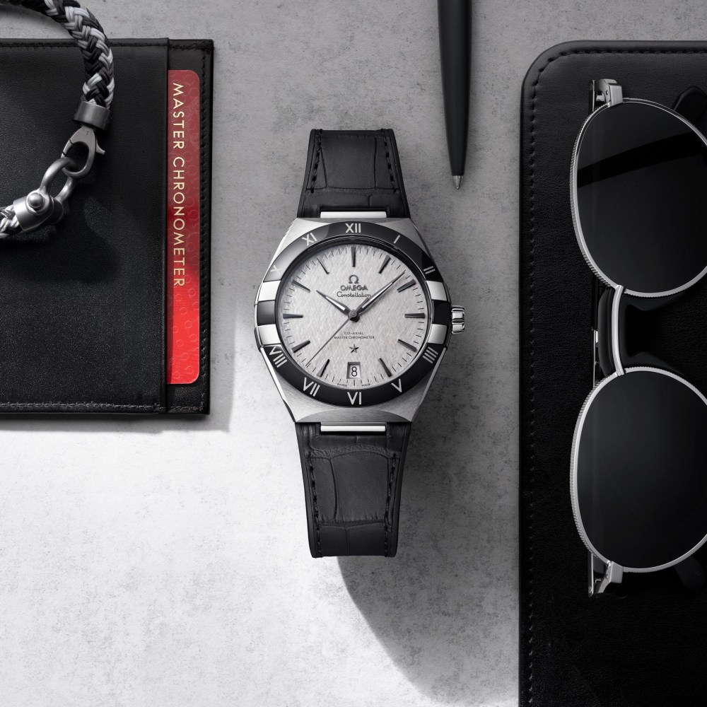 new Omega Constellation Gents' Collection 41