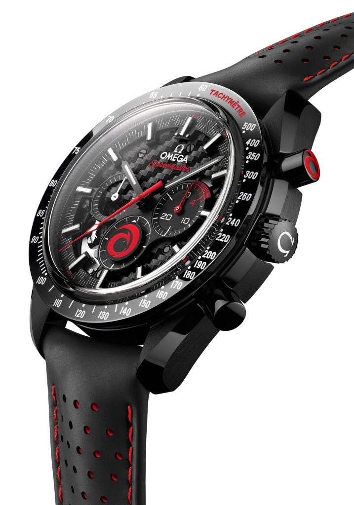 new Omega Speedmaster Dark Side of the Moon Alinghi