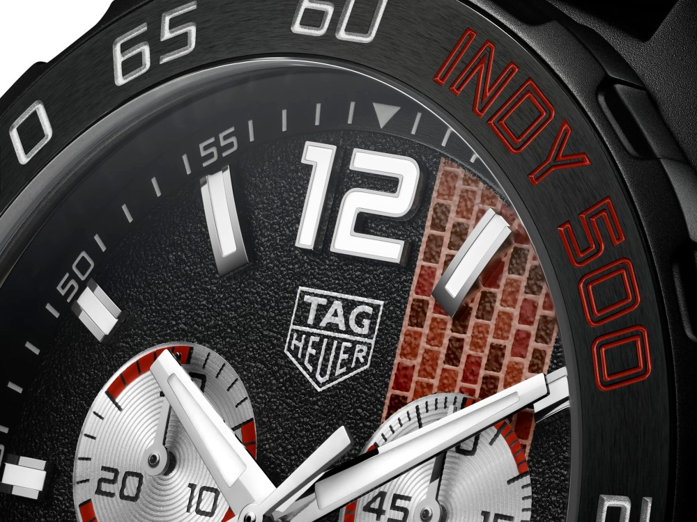Tag Heuer Indy 500 Limited Edition Watch Close up