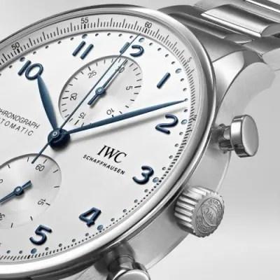 new IWC Schaffhausen Portugieser Chronograph