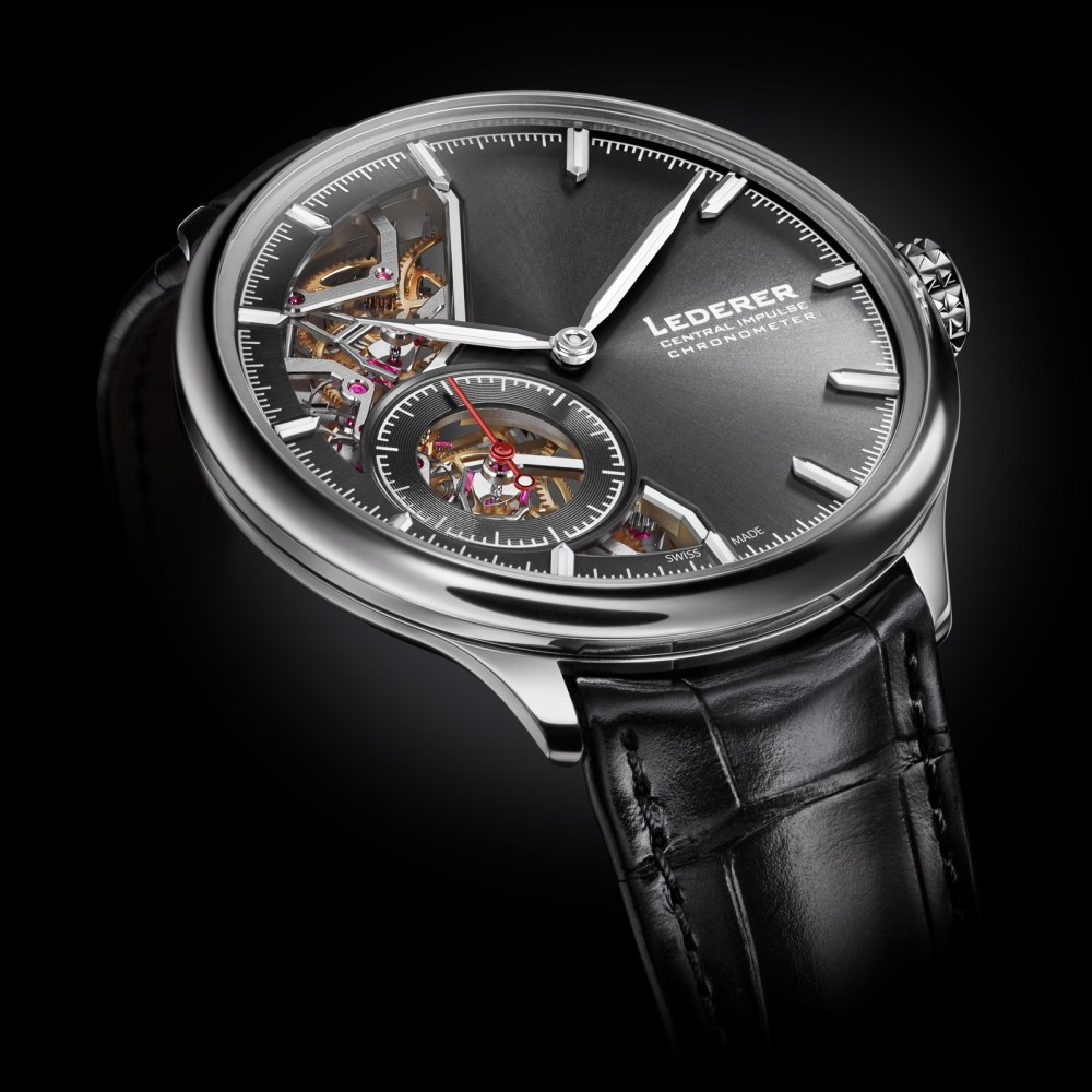 GPHG 2020 nominated Bernhard Lederer Central Impulse Chronometer