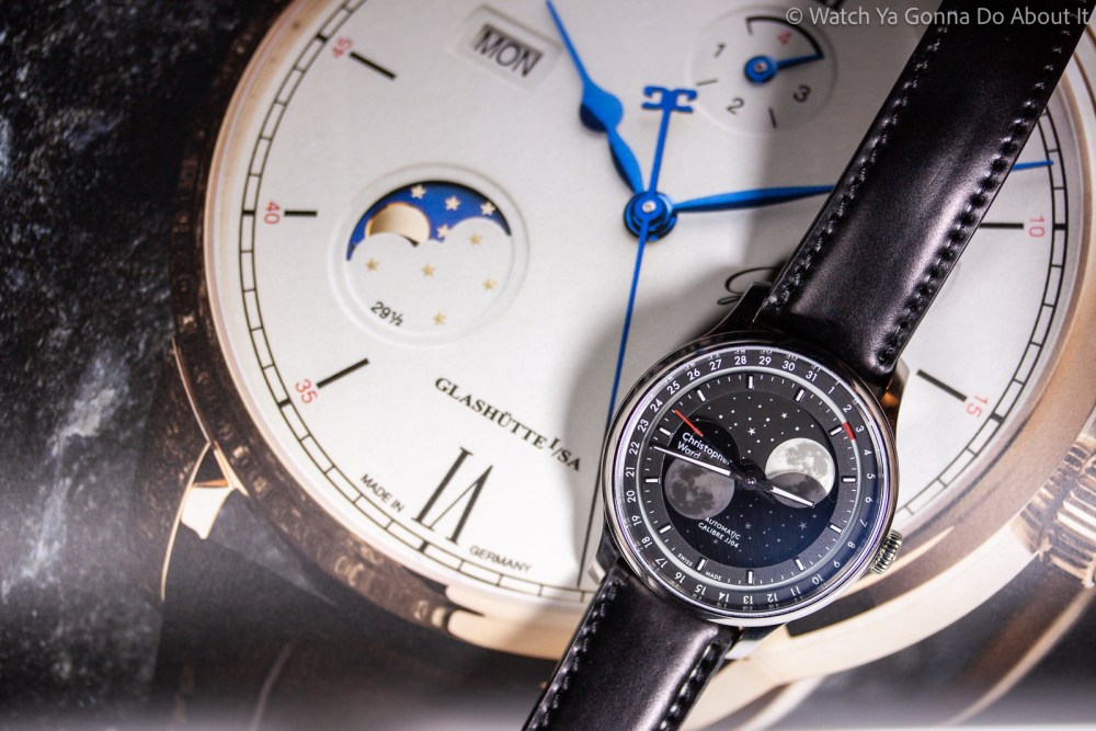 Christopher Ward Moonglow Hands On Christopher Ward C1 Moonglow