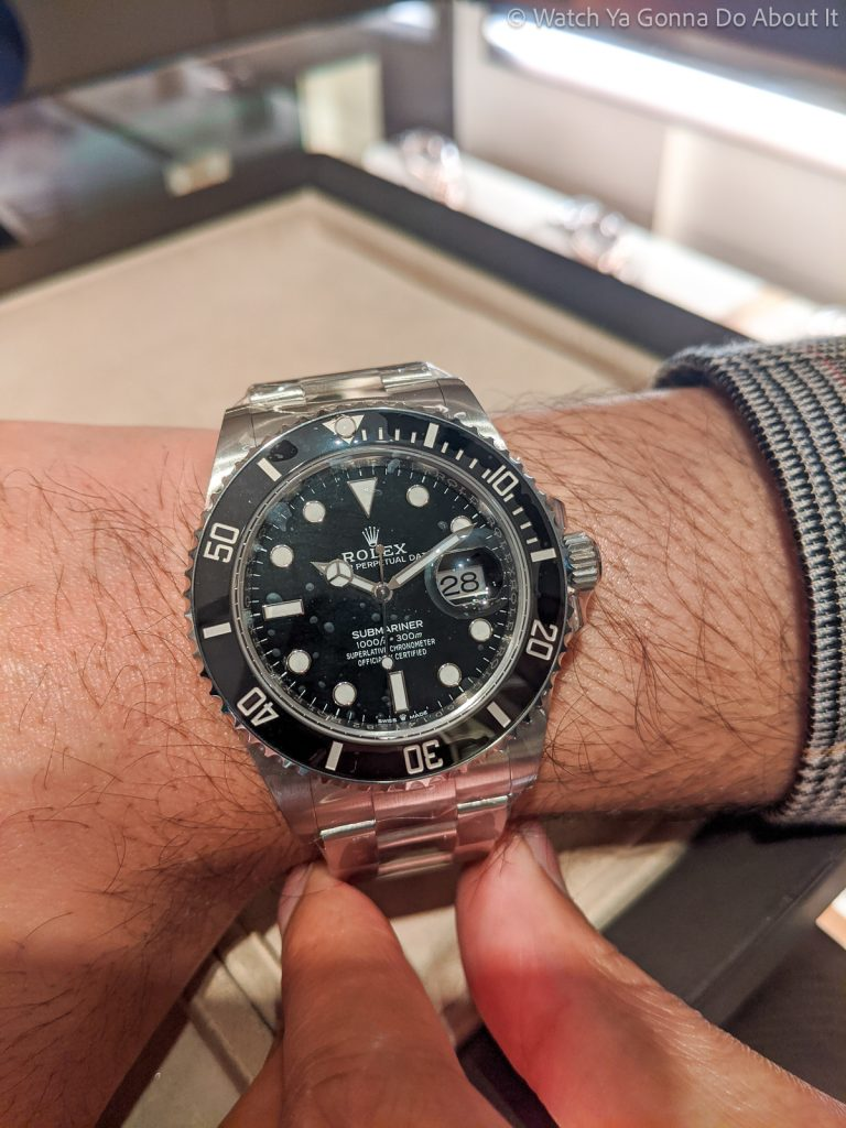 hands-on with new Rolex