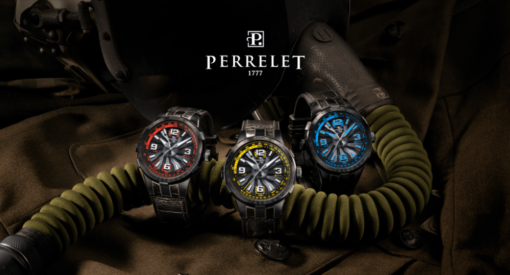 Perrelet watch new Perrelet Turbine Pilot