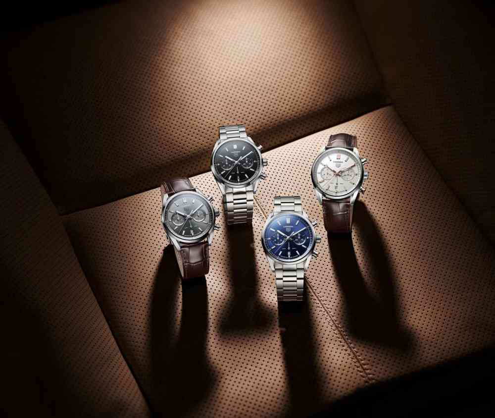 Tag Heuer Carrera collection new TAG Heuer Carrera Chronograph