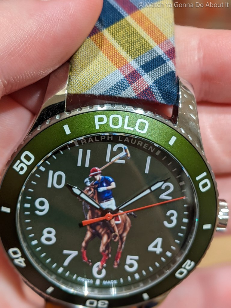 Ralph Lauren Polo Watch