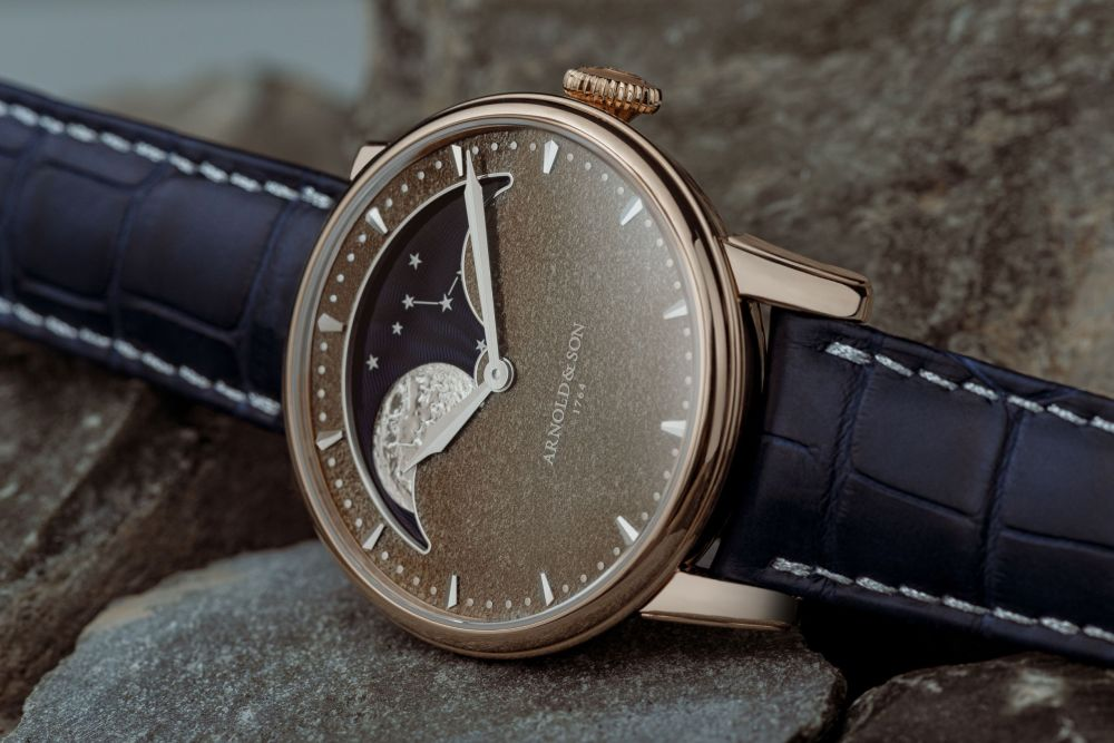 New Arnold & Son Perpetual Moon Obsidian