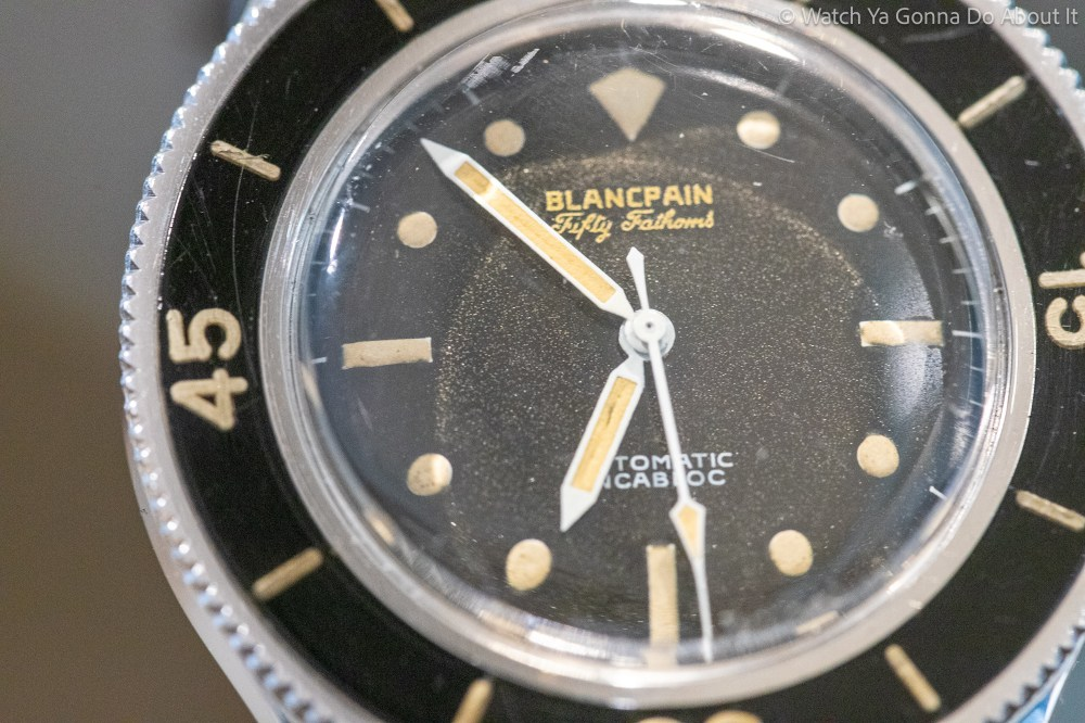 Rare Vintage Blancpain Fifty Fathoms