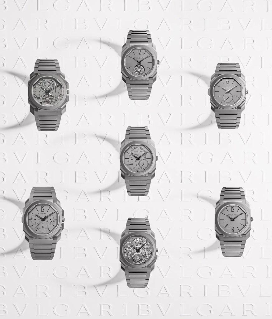 New Bulgari Timepieces