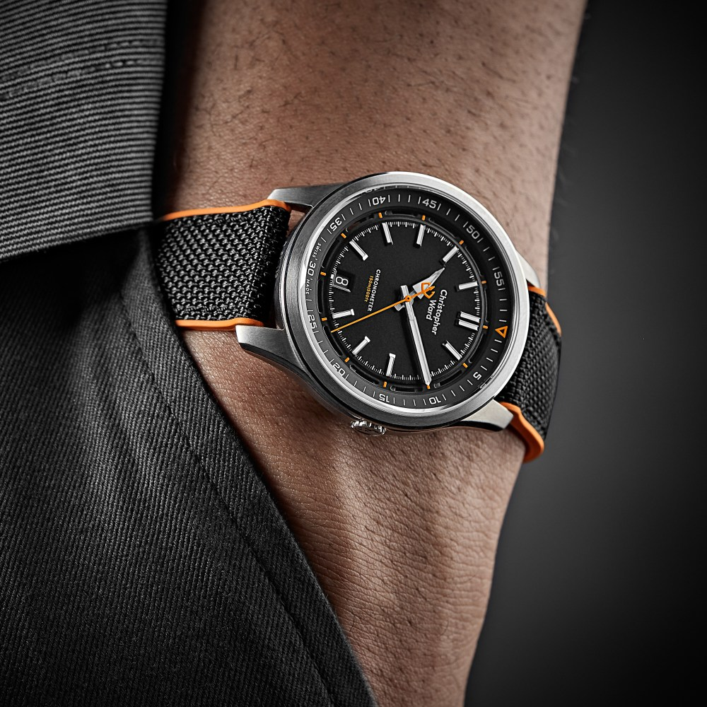 Raising The Daily Beater Ante: Defy Odds With The New Christopher Ward C63 Sealander Collection