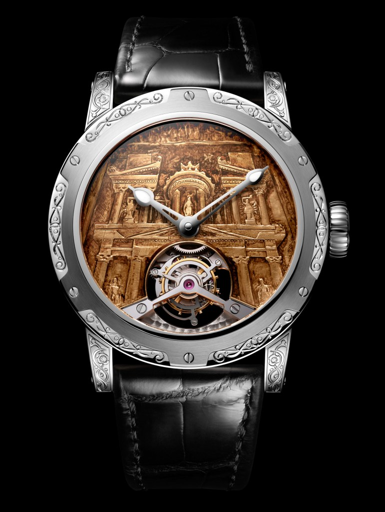 New Louis Moinet '8 Marvels of the World' Petra