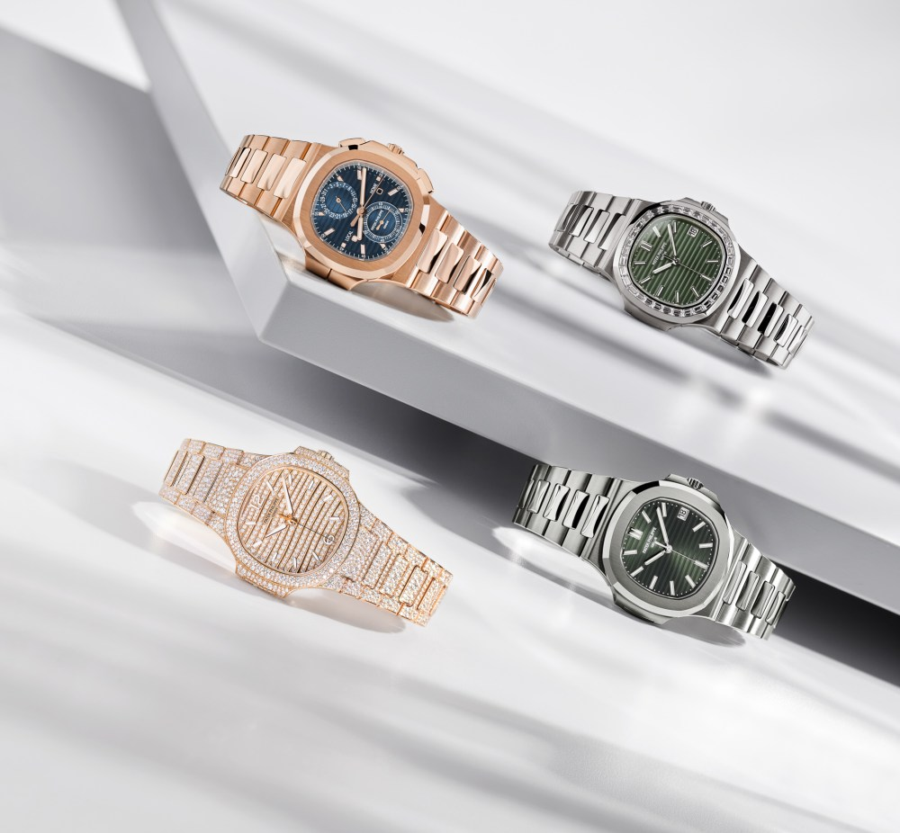 New Patek Philippe Nautilus Collection