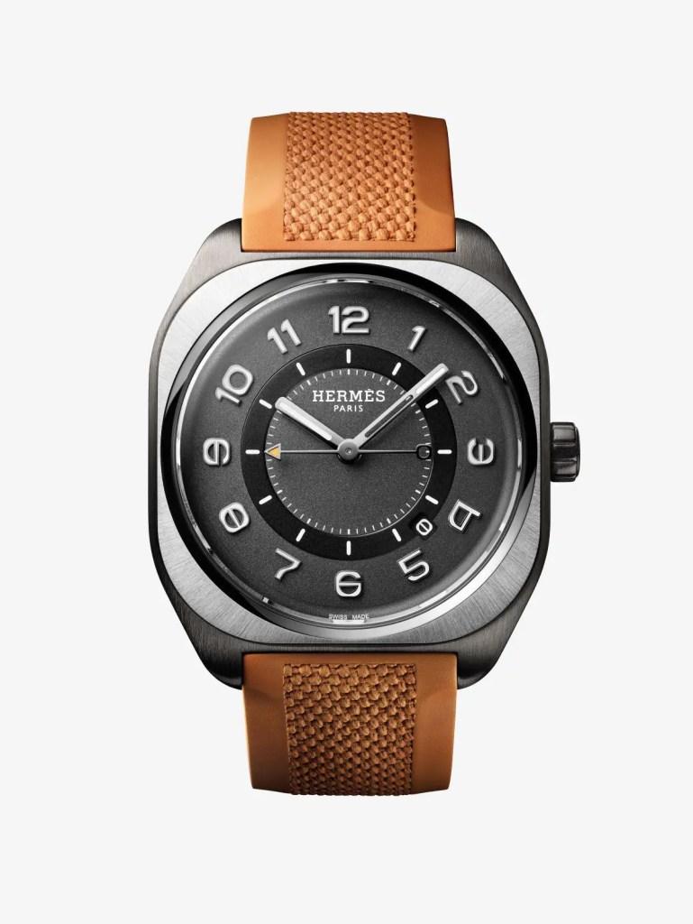 Hermes H08 Titanium Dlc Orange Rubber 769x1024