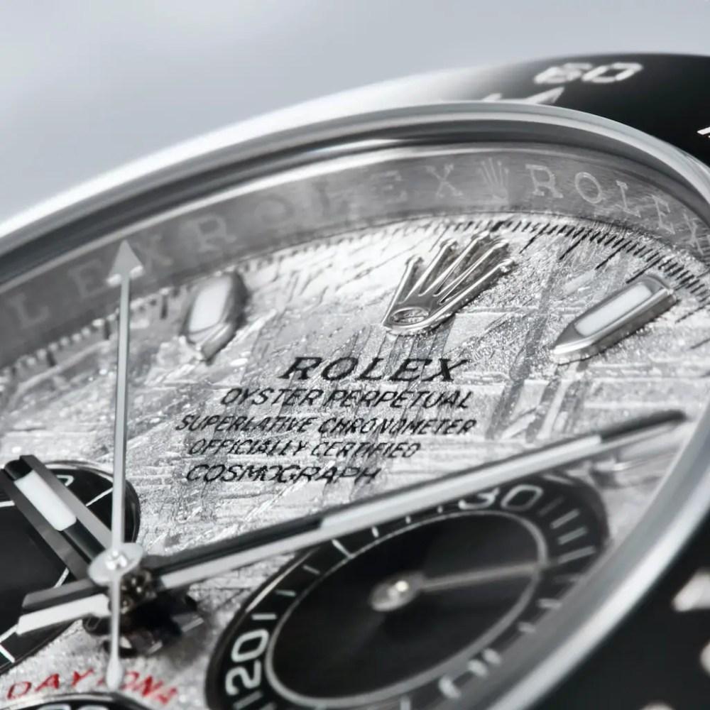 New Rolex Daytona Meteorite Collection