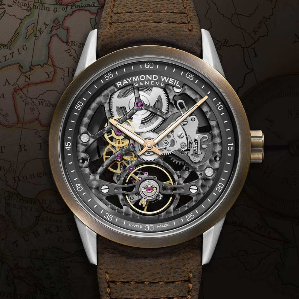 GTTP: Preview Of The New Raymond Weil Freelancer Skeleton