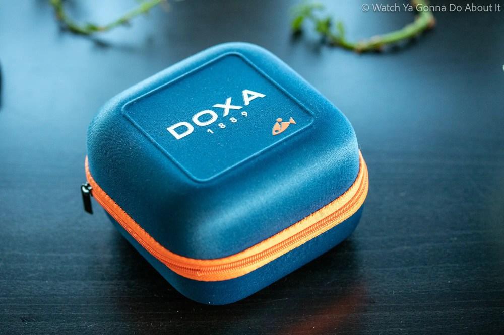 New Doxa SUB 300 Carbon COSC