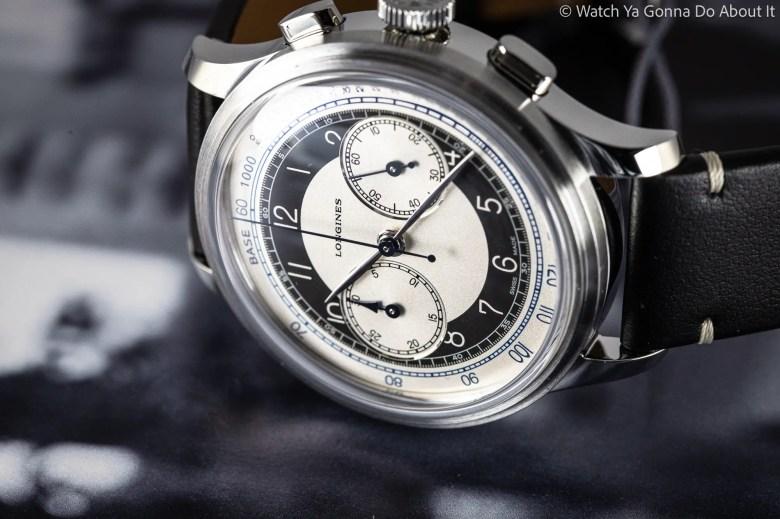 Longines Heritage Classic Chronograph 'Tuxedo'