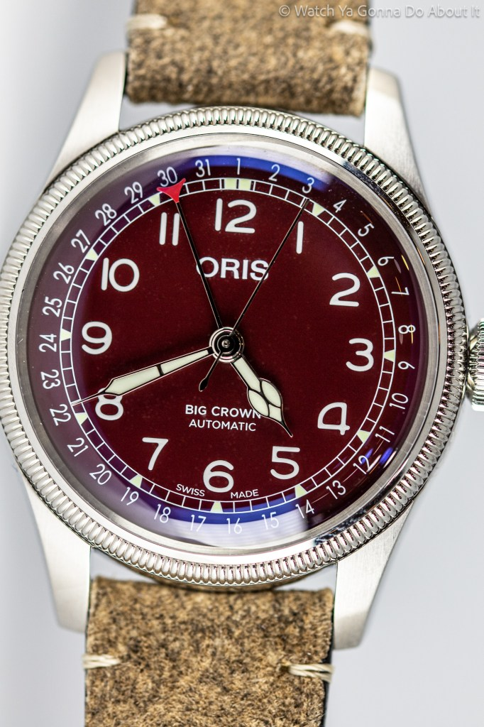 Oris Big Crown Pointer Date Red