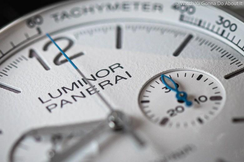 New Panerai Luminor Chrono PAM01218
