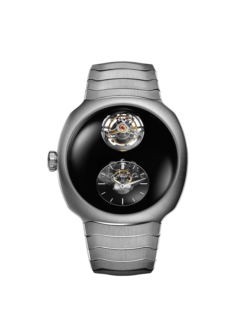 New H. Moser & Cie Streamliner Cylindrical TourbillonOnly Watch 2021