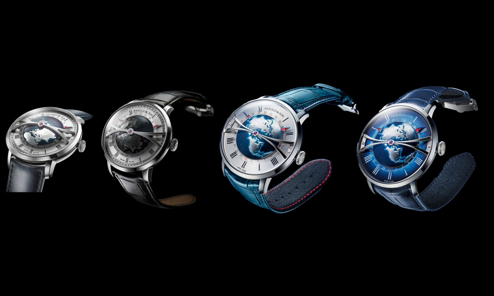 Arnold And Son Globetrotters