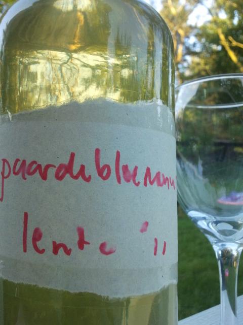 Wateetons' grand vin du paardebloem 2011