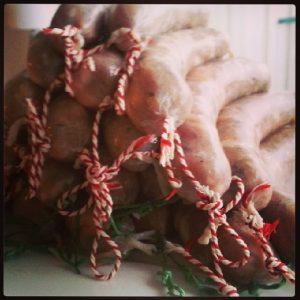 rood-groene worstjes