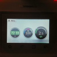 Het scherm van de Thermomix