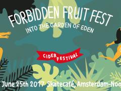 25 juni – Amsterdam Noord – forbidden fruit fest – ciderfestival