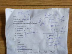 Koksopleiding les 22 en 24: proefexamen zonder vingertop en ego
