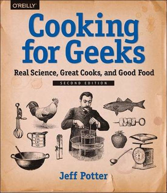 Book Cover: Cooking for Geeks - Potter