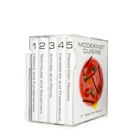 Book Cover: Modernist Cuisine, The Art and Science of Cooking- Myhrvold & Young