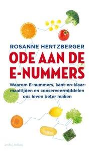 Boek Cover Ode aan de e-nummers - Hertzberger