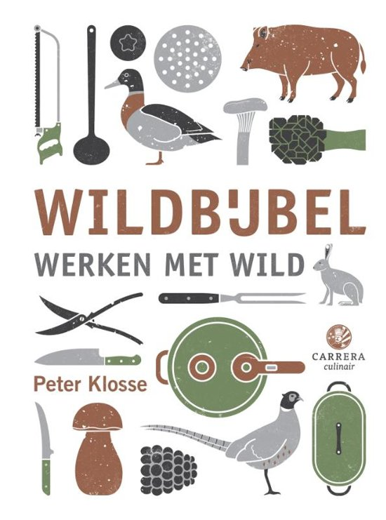 Book Cover: Wildbijbel - Klosse